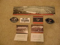 Texans (NFL) Memorabilia Collection (Early Years Thru 2008) - Does Not Include The JJ Watt Era in Houston, Texas