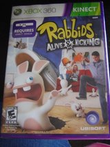 NEW XBOX 360 Rabbids Alive & Kicking game in Fort Riley, Kansas