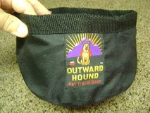 Folding Travel Pet Food Bowl in Kingwood, Texas