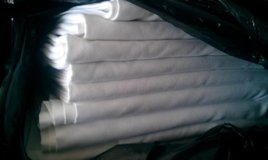 White Commercial Grade Restaurant Banquet Table cloths in Chicago, Illinois