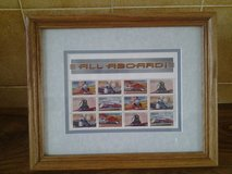 reduced, trains of america stamps in Lakenheath, UK