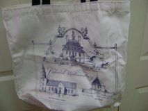 "Great Tote From ""Colonial Williamsburg"" in Kingwood, Texas"